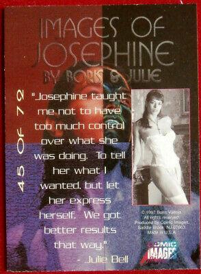 IMAGES OF JOSEPHINE - Individual Card #45 - Comic Images - Fantasy Art - 1997 2