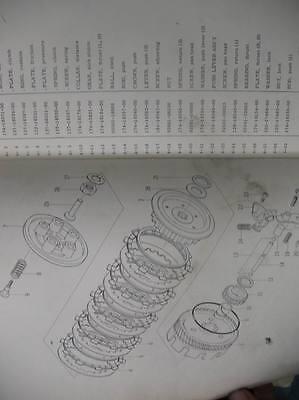 Yamaha Parts List Numbers Manual 1967 Ycs1 Ycs 5