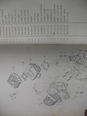 Yamaha Parts List Numbers Manual 1967 Ycs1 Ycs 3