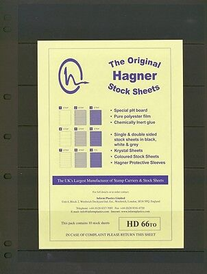 Hagner Double Sided Stamp Album Stock Pages 6