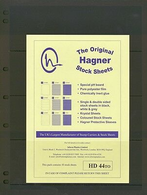 Hagner Double Sided Stamp Album Stock Pages 4