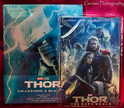 Thor Trilogy Edición Limitada Caja Metálica Blu-Ray Importación - Region Free + 2
