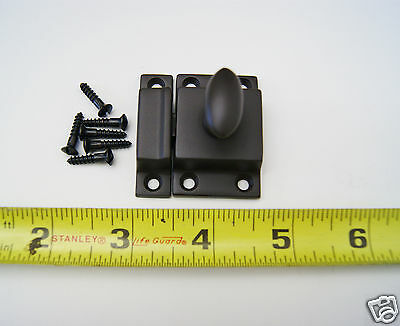 Cabinet Latch with Oil Rubbed Bronze Finish 3