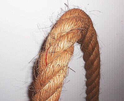 Altes Anschlagseil Abschleppseil Handgeknüpft Seil Hebeschlinge Lastenseil Deko 8