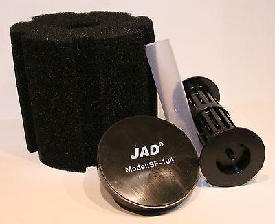 3 x JAD SF104 Schwammfilter Biofilter Innenfilter Luftbetriebener Filter 4
