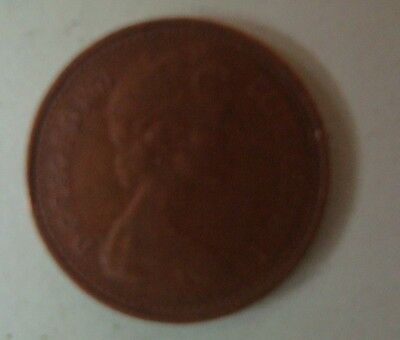 1973 1/2 Penny Queen Elizabeth Decimal Coin (Circulated) 2