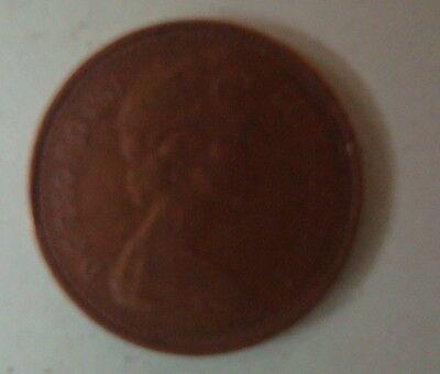 1977 1/2 Penny Queen Elizabeth Decimal Coin (Circulated) 2