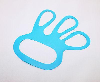 100 x Fingerlinge Fingerfix Handschuhspanner blau Stechschutzhandschuh 2