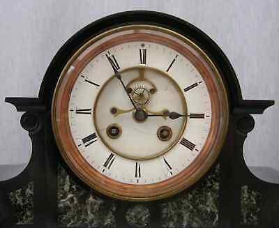 Huge 1869 Victorian Clock, 14-day Marti Movement, Visible Brocot Escapement 2
