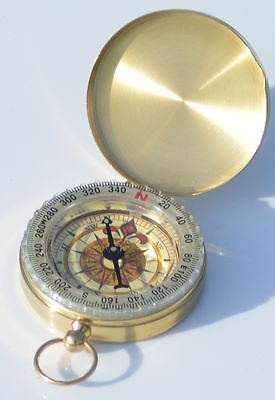 BRASS ENGRAVED Coordinate Compass  - Personalised Gift 2