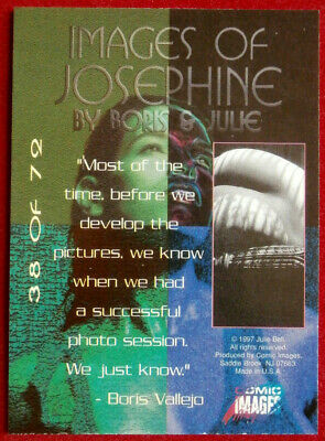IMAGES OF JOSEPHINE - Individual Card #38 - Comic Images - Fantasy Art - 1997 2