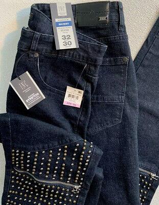 Men/'s Jean Pants GAP,Old Navy,size 38//32,34//32,Med /& Dark Indigo Blue NWT