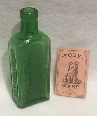 Antique 1883 Toby and the Wasp Booklet Piso's Cure for Consumption Medicine Rare 7