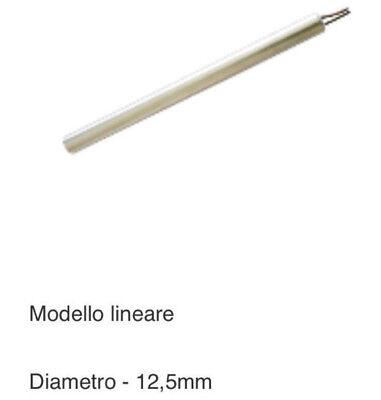 CANDELETTA ACCENSIONE STUFA PELLET 250 W Lung 160 mm diam 12,5 mm cod. HT62702 2