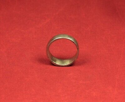 Late Medieval Silver Finger Ring - 17. Century 3