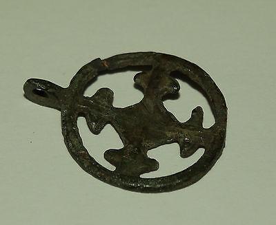 "Superb Viking  pendant "" Cross in a circle"". Kievan Rus. Viking. c 10--11 AD 7"