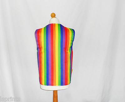Novelty Waistcoat Stars /& Stripes Fancy Dress Gift Funny Party Festival