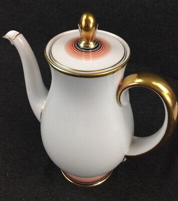 Rosenthal Bavaria Olympia Art Deco Kaffeekanne Kanne Teekanne alt Porzellan