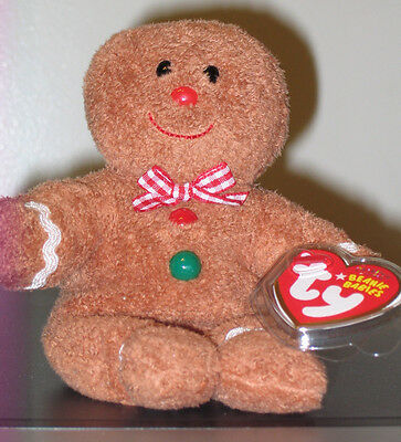 95edcf6929c ... Ty Beanie Baby Set ~ HANSEL   GRETEL the Gingerbread Man ~ MINT with  MINT TAGS