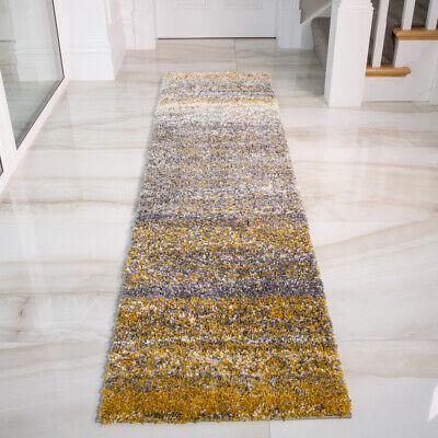 Modern Ochre Mustard  Yellow Floor Rug Living Room Small Large Soft Shaggy Rugs 5