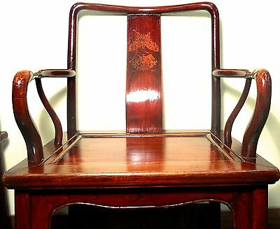 Antique Chinese Ming Arm Chairs (5507), Circa 1800-1849 4