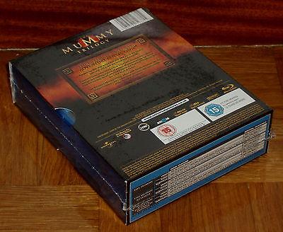 Trilogia La Momia 3 Blu-Ray Nuevo Precintado Aventuras Español (Sin Abrir) R2 6