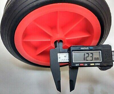 Replacement Jockey Wheel Red Plastic Fits Mp431 432 160Mm Genuine Maypole Mp430 5