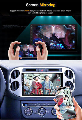 """Android 8.1 Double 2Din 10.1"""" HD Quad-Core Car Stereo Radio GPS Wifi Mirror Link 6"""