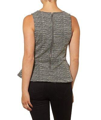 567a3f621 NEW SPORTSGIRL TEXTURED midi skirt black & white sz S 8 -10 - $17.30 ...