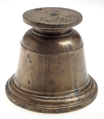 Originaler Massiver Glocken Mörser Bronze Deutsch Um 1580 Sächsische Sammlung 3