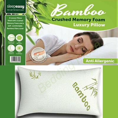 Memory Foam Mattress Topper Bamboo Orthopedic 2.5 Thick  Zipped Cover All Sizes 3