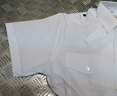Bobby Long or Short Sleeve Genuine British Police HMRC White Shirt Old Bill