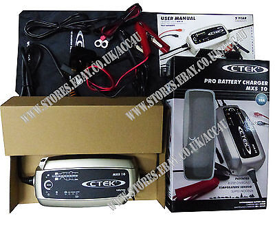 New 2019 Model CTEK MXS 10 Pro 12v 10A 8 Step Car Van 4x4 Smart Battery Charger 4
