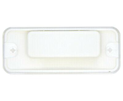 Kunststoff-Namensschilder weiß mit Magnet oder Sicherheitsnadel Papiereinschub