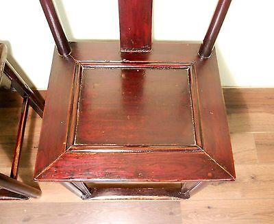Antique Chinese High Back Chairs (Pair) (5427), Circa 1800-1849 6
