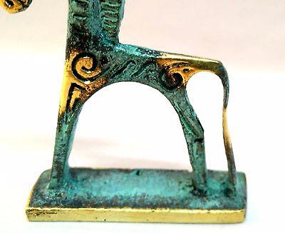 Statue Geometric Horse Era Bronze Ancient Greek Museum Replica Collectable 6