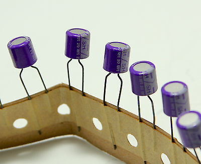 10pcs Japan SANYO OS-CON 25V4.7UF organic solid capacitors