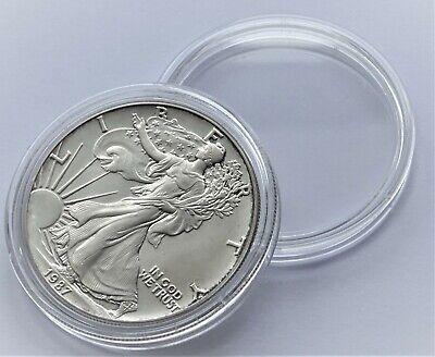 Plastic Round Coin Boxes Capsules Cases 41mm 10,20,50 or 100 capsules 1oz coins 2