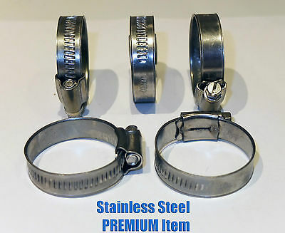 Stainless Steel Hose Clips Pipe Clamps - jubilee type - 304ss - British Type 5