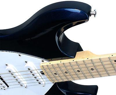 Vielseitige E-Gitarre mit zwei Singlecoil und einem Humbucker-Tonabnehmer