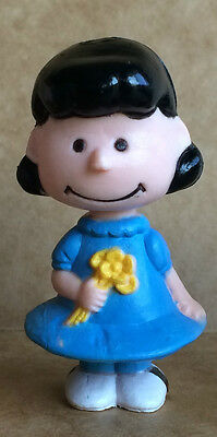 Charlie Brown Lucy Snoopy United Feature 1950s4 3 Vintage Peanuts Pocket Dolls