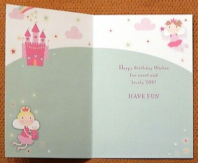 Phenomenal Pack Of 6 Girls Childrens Kids Birthday Cards Female Childs Funny Birthday Cards Online Alyptdamsfinfo
