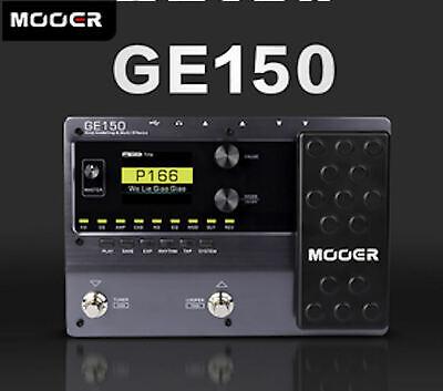 MOOER GE150 Amp Modelling & Multi Effects Pedal 55 Amplifier Models New release 9
