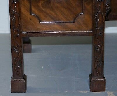 Viscountess Boyd's Ince Castle Rare George Iii Mahogany Sideboard Chippendale 9