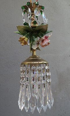 Porcelain Capodimonte Beaded Rose