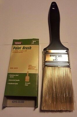 "Set of 10 2"" Professional Paint Brush Synthetic All Purpose Brushes"