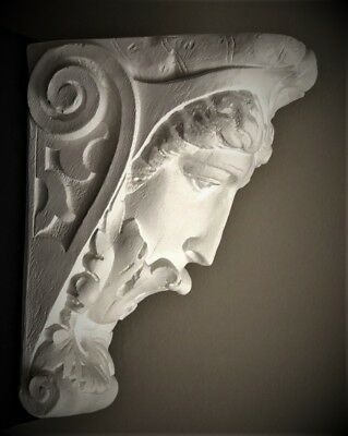 Star Lady Corbel Bracket Shelf Architectural Accent Home Decor 3