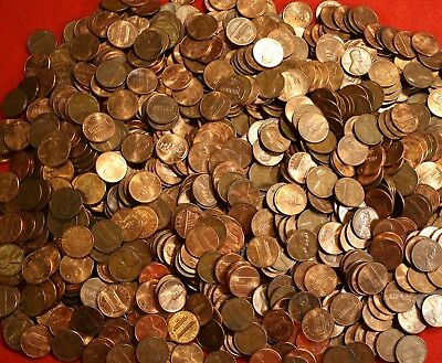 1984-P Lincoln Memorial Cent Penny 50 Coin Roll Circulated 3