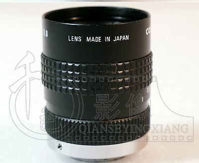 Used Good COSMICAR50/1.8TV 50mm 1:1.8 Mount Television Lens CCTV #E-R1  GY 4