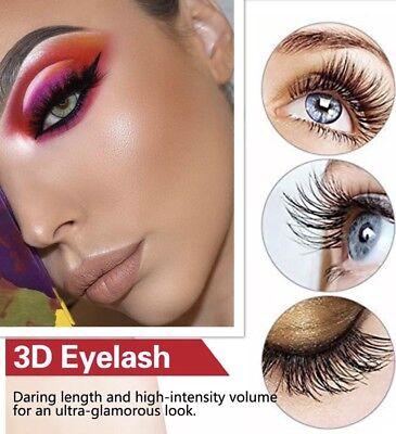 💙NEW 5 Pair 3D Mink False Eyelashes Wispy Cross Long Thick Soft Fake Eye Lashes 7